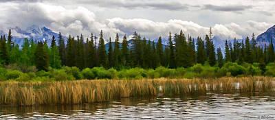 Photograph - Vermilion Lakes by Jordan Blackstone