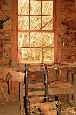 Photograph - Vermilionville Woodworking Shop  by Ronald Olivier