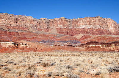 Art Print featuring the photograph Vermillion Cliffs Colors by Bob and Nancy Kendrick