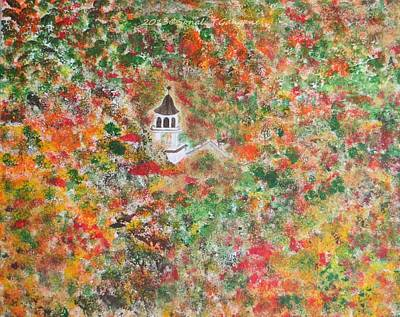 Nature At Its Best Painting - Vermont Autumn Odyssey by Sonali Gangane