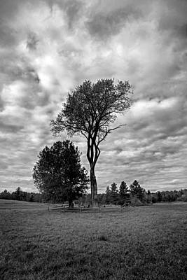 Photograph - Vermont Cemetery by Charles Harden