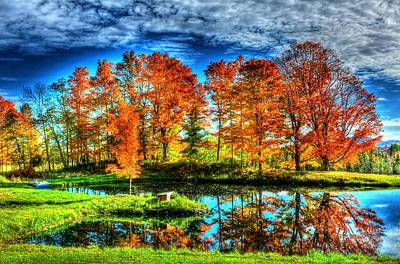 Photograph - Vermont Colors by John Nielsen