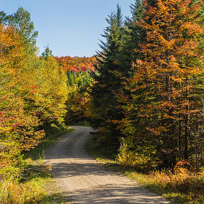 Vermont Country Road Art Print
