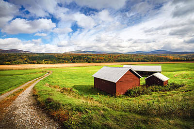 Photograph - Vermont Country by Robert Clifford