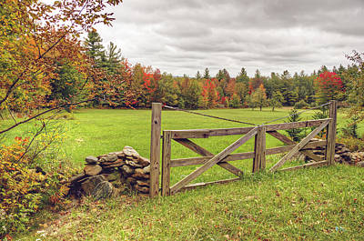 Photograph - Vermont Countryside by Donna Doherty