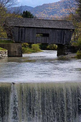 Photograph - Vermont Covered Bridge 5 by Robert Lozen