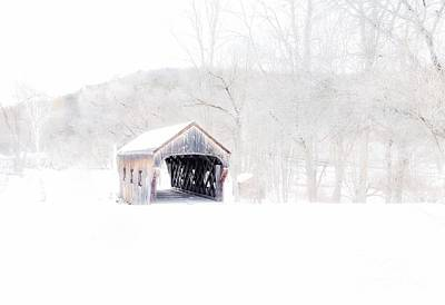 Photograph - Vermont Covered Bridge by Marcia Lee Jones