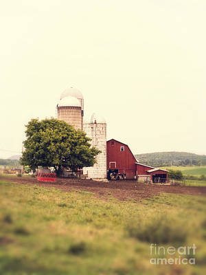 Photograph - Vermont Family Farm by Edward Fielding
