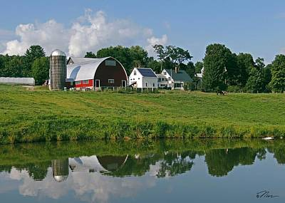 Photograph - Vermont Farm by Nancy Griswold