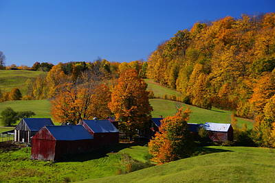 Photograph - Vermont Farm by Robert Lozen