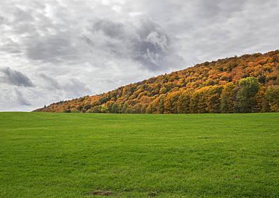Photograph - Vermont Hillside by Charles Harden