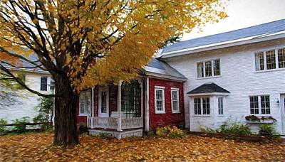 Photograph - Vermont House by Bill Howard