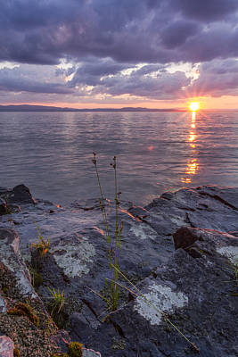 Lake Champlain Photograph - A Stormy Surprise   by Andy Gimino