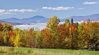 Vermont October Morning Art Print by Alan L Graham