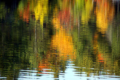Photograph - Vermont Reflections 2 by Robert Lozen