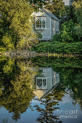 Vermont Reflections Art Print by Edward Fielding
