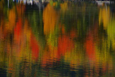 Photograph - Vermont Relections 4 by Robert Lozen