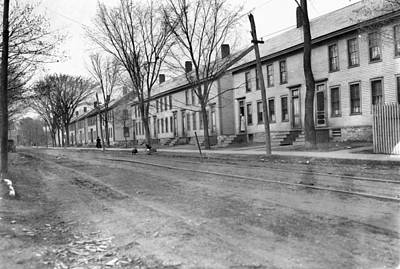 Photograph - Vermont Row Houses, C1909 by Granger