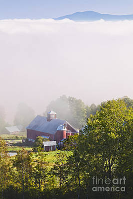 Photograph - Vermont September Morning by Alan L Graham