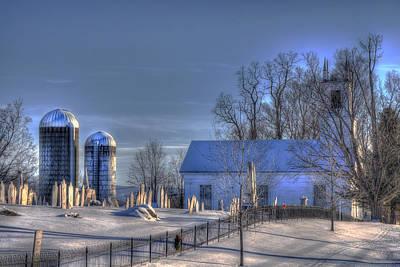 Photograph - Vermont Snow Scene by Joann Vitali
