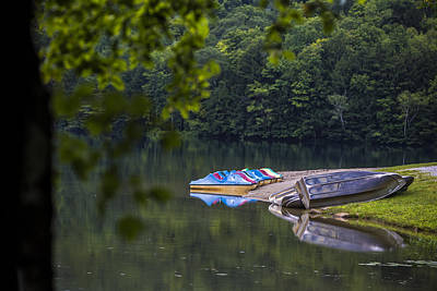 Photograph - Vermont State Park Boats by John McGraw