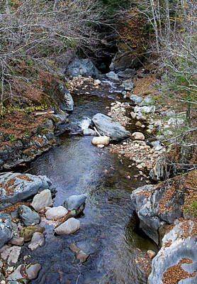 Photograph - Vermont Stream 3 by Charles Harden