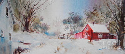 Painting - Vermont Sugar Shack by P Anthony Visco