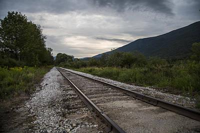 Photograph - Vermont Train Tracks  by John McGraw