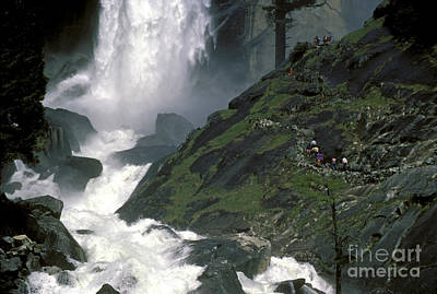 Photograph - Vernal Falls And Path To The Top by Paul W Faust -  Impressions of Light
