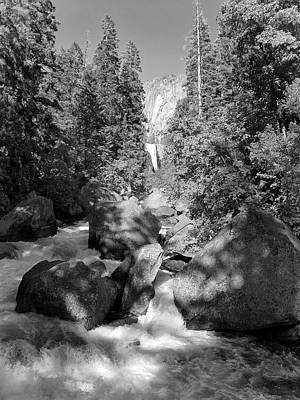 Photograph - Vernal Falls At Merced River by David Beebe