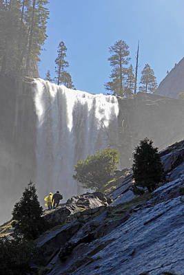 Art Print featuring the photograph Vernal Falls Mist Trail by Duncan Selby