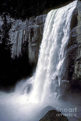 Photograph - Vernal Falls Profile by Paul W Faust -  Impressions of Light