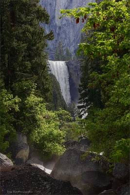 Photograph - Vernal Falls- Yosemite by Daniel Behm