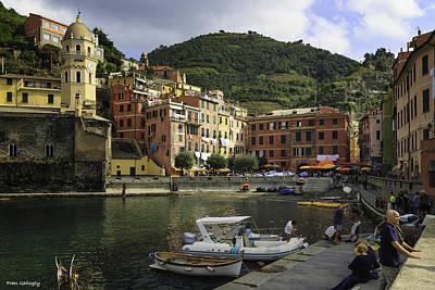 Photograph - Vernazza Cinque Terre by Fran Gallogly