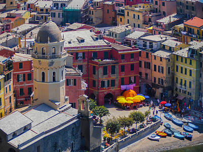 Photograph - Vernazza Colors - Cinque Terre by Dany Lison