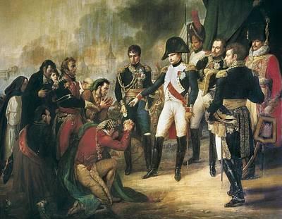 Vernet, Carle 1758-1836. Napoleon Art Print