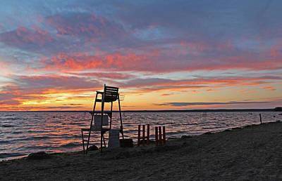 Verona Beach Sunset Art Print