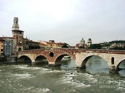 Verona Bridge Art Print