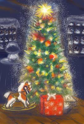 Painting - Veronicas Pony Rides Again by Jean Pacheco Ravinski