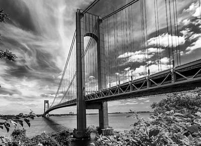 Photograph - Verrazano Bridge by Jody Lane