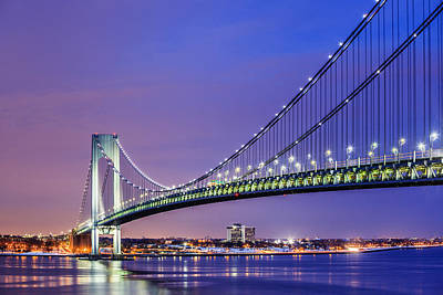 Photograph - Verrazano-narrows Bridge by Alex Potemkin