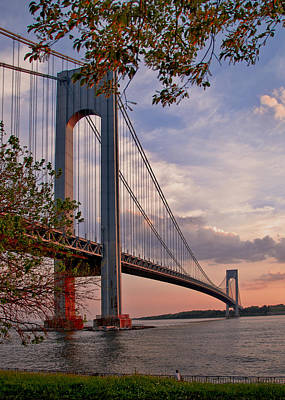 Verrazano Narrows Bridge Art Print