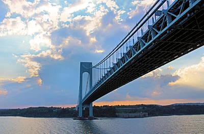 Photograph - Verrazano-narrows Bridge by Kristin Elmquist