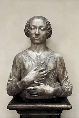 Verrochio, Andrea Del 1435-1488 Art Print
