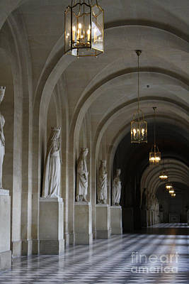 Photograph - Versaille by Mary-Lee Sanders
