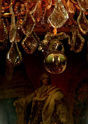 Photograph - Versailles Chandalier by Maria  Disley
