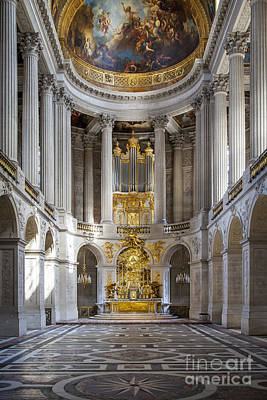 Chateau Photograph - Versailles Chapel by Brian Jannsen