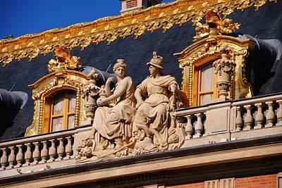 Versailles - Detail Art Print by Jacqueline M Lewis