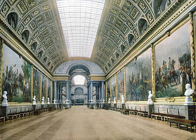 1900 Architecture Painting - Versailles Gallery by Granger