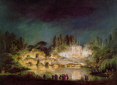 1781 Painting - Versailles Gardens, 1781 by Granger